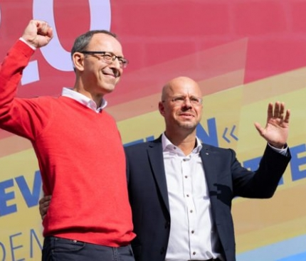 Second place but Germany's right wing party is still making waves