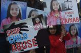 Pakistanis protest rape and murder of 7-year old girl