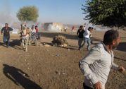 TR-syrianturkish border Kobane