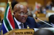 January 29, 2018 - President Zuma presents the State of Peace and Security in Africa report at the Level of Heads of State and Government at the 30th Ordinary Session, AU (Photo: The Presidency of the Republic of South Africa)