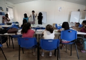 Refugee children in Greece are still out of school