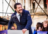 Matteo Salvini emerges as Italian conservative leader amidst a surprising surge of far-right politics