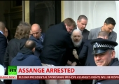 A bad guest: WikiLeaks founder's arrest receives mixed reaction in the British public