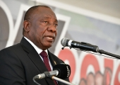 South Africa's incumbent president perseveres despite party's reputation